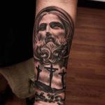Jesus Christ Tattoo Design