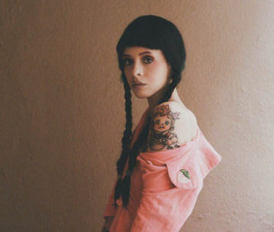 Melanie Martinez Tattoo on Shoulder