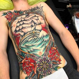 Nautical Tattoo Full Body