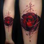 Rose Bud Tattoo