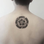 Simple Markered Piece Tattoo