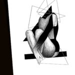 cubism tattoo abstract idea
