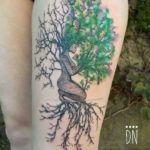 Mokosh tattoo tree