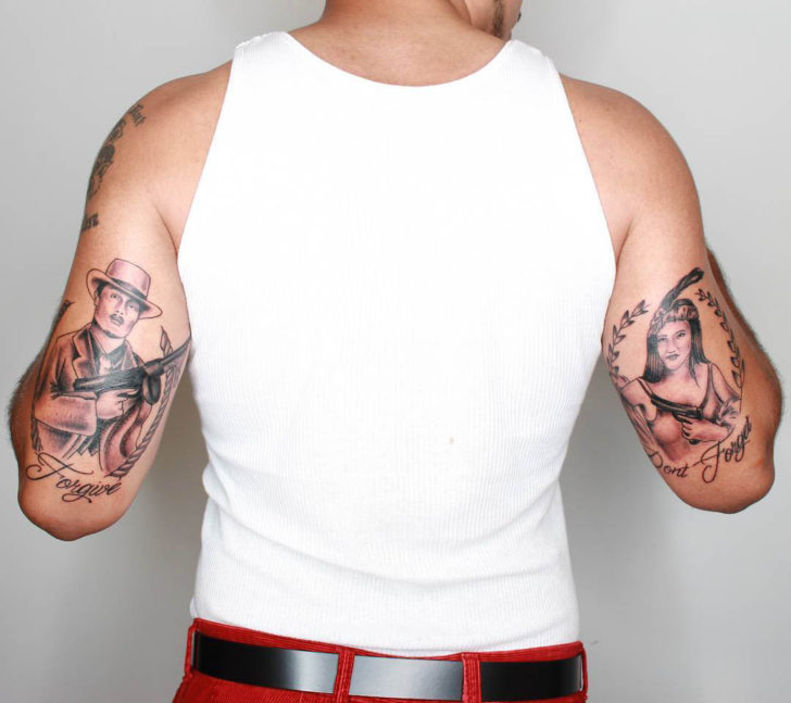 Tattoo on tricep