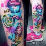 Watercolor Tattoo Designs