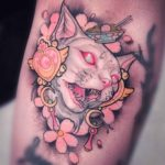 White Cat Tattoo