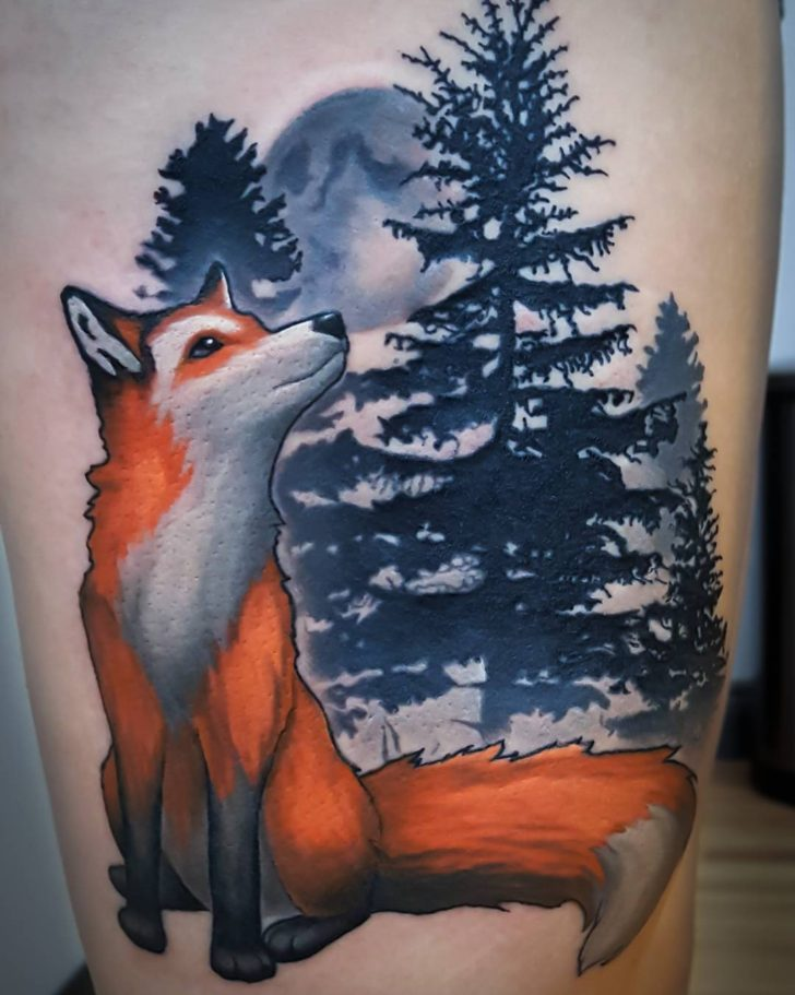 fox-tattoo-by-curtis-aldrich