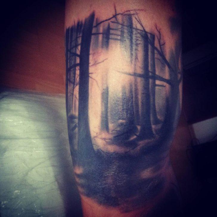 meditative forest by tetovanie.sered