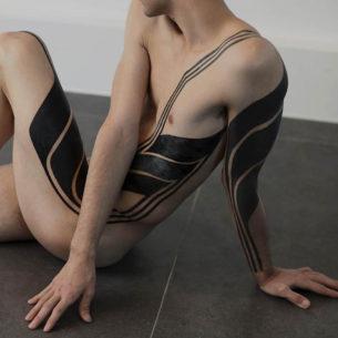 Blackwork Tattoo Art