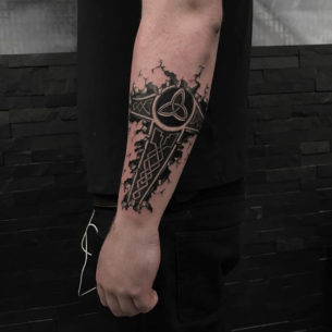 Celtic Triquerta Tattoo