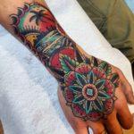 Hand Neo-Traditional Tattoo