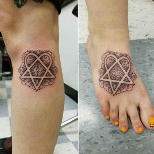 Hertogram Tattoos for Sisters