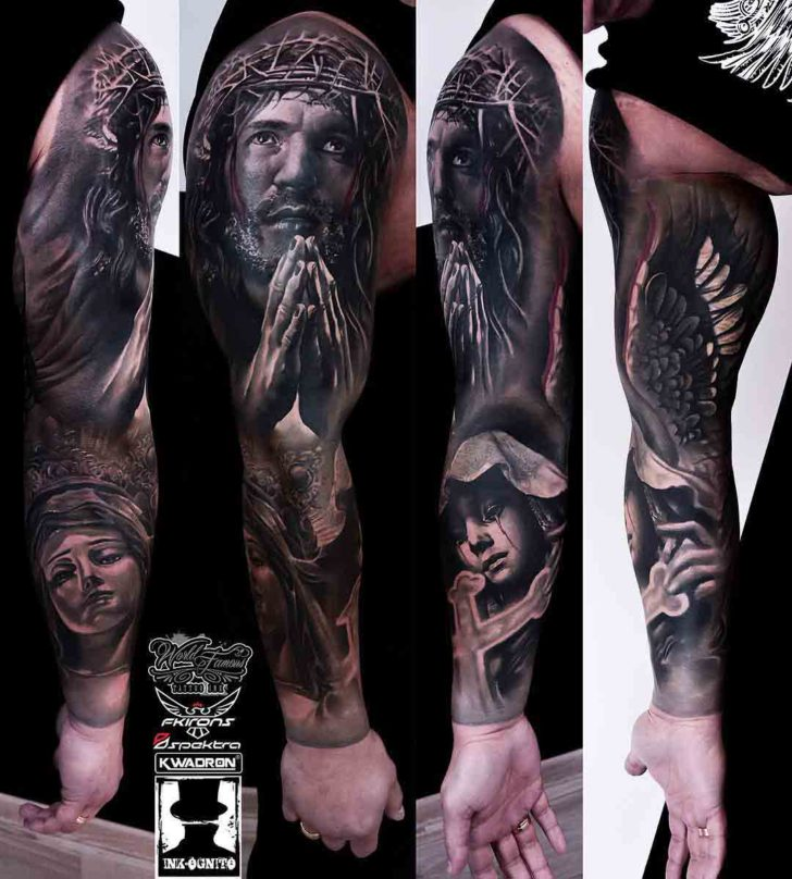 Jesus Sleeve Tattoo | Best Tattoo Ideas Gallery