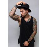 man oriental sleeve tattoos
