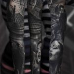 Tattoo Black and Grey Sleeve