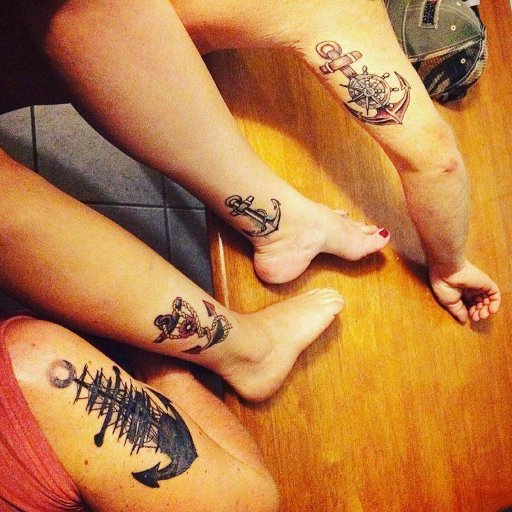 unchor friends tattoos