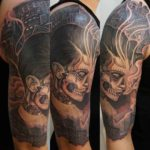 shoulder chicano tattoo