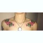 Collar Bone Tattoo Flower Tattoos