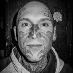 Face Tattoo Tribal