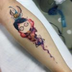 Harry Potter Tattoo Watercolor
