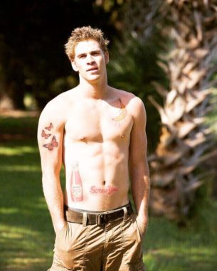Liam Hemsworth's new Tattoos