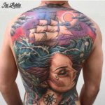 Nautical Tattoo on Full Back
