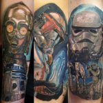 Characters of Star Wars Tattoos
