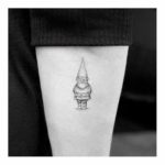 small gnome tattoo