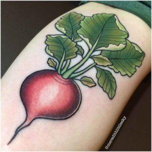 Radish Tattoo