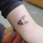 Small Dog Tattoo Designs