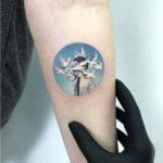 White Doves Tattoo Dreaming