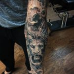 Baroque Lion Tattoo