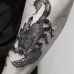 Black Scorpion Tattoo
