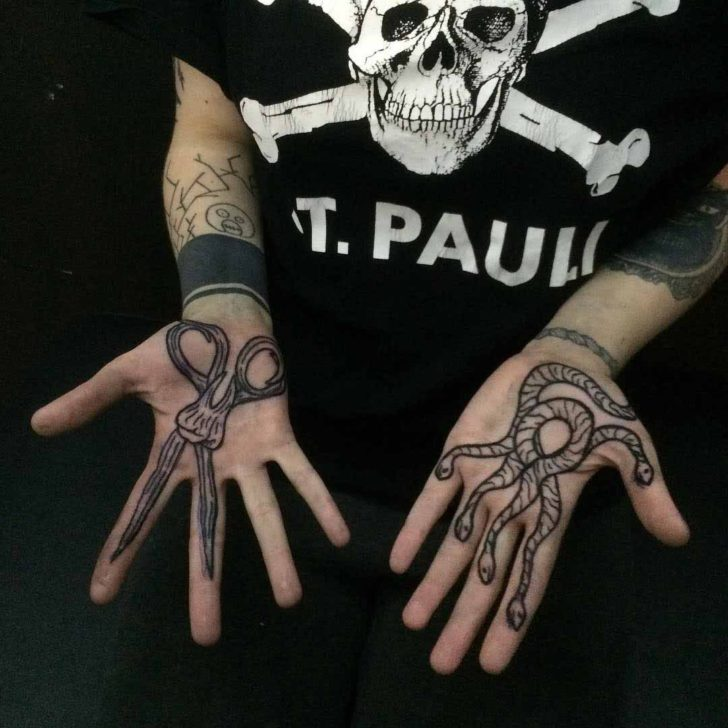 Cool Palm Tattoos by Bakunista