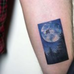 ET Tattoo Moon