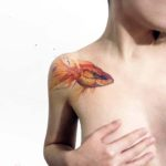 Golden Fish Tattoo