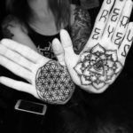 Mandala Tattoo on Palms