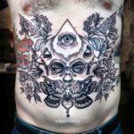 Stomach Tattoo