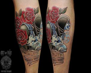 Sub Zero Tattoo Neo-Traditional