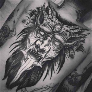 Big Demon Tattoo