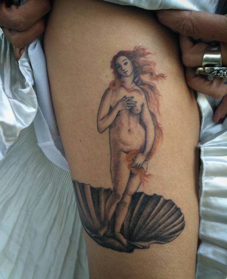 Classic Venus Tattoo Goddess by btptattoo