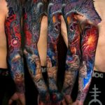 Fantasy Tattoo Sleeve
