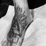 Foot House Tattoo
