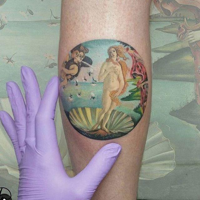 Goddess Venus Tattoo by andrea.m0rales