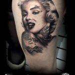 Inked Marilyn Monroe Tattoo
