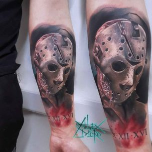 Jason Tattoo on Arm