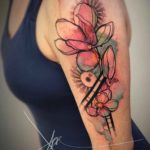 Magnolia Flowers Tattoo on Shoulder