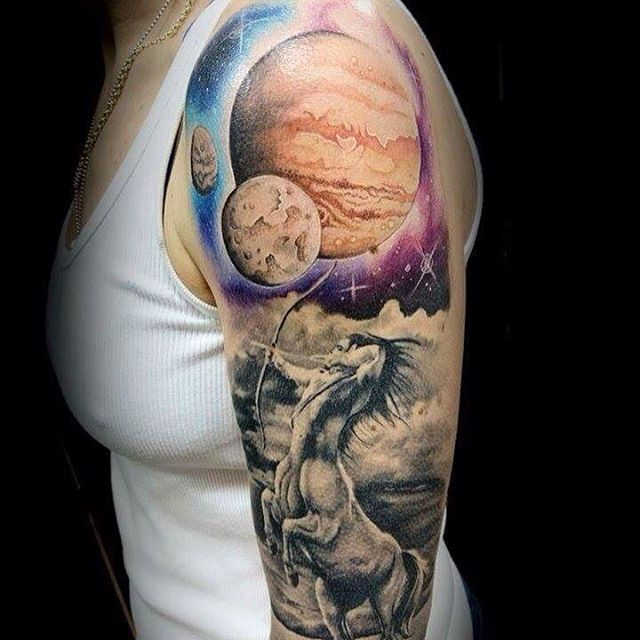 Solar System Tattoo | Best Tattoo Ideas Gallery