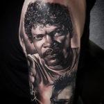 Samuel L Jackson Tattoo Portrait