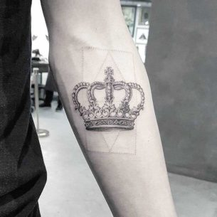 Tattoo Crown